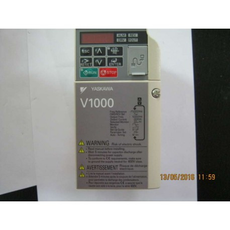 INVERTER OMRON CIMR-VC2A0006BAA